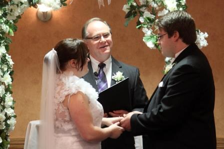 Cincinnati Wedding Officiant Pastor Steve Means